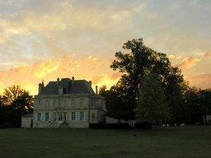 Le Château du Foulon au crépuscule