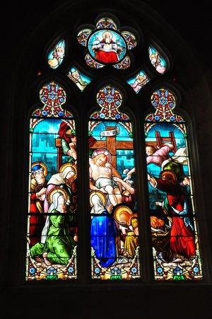 Vitrail - Eglise Saint-Jacques